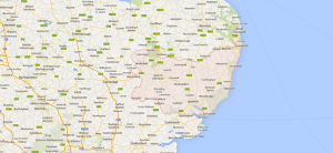 Suffolk Regional Map
